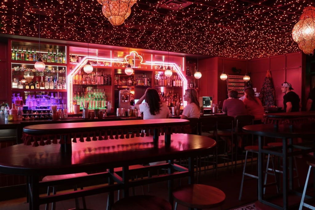 Ghost Donkey pink interior Denver CO