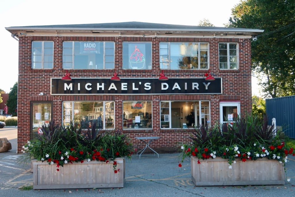 Michaels Dairy on Mitchell College campus New London CT