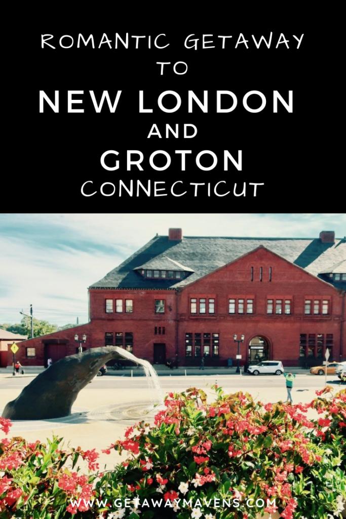 New London Groton CT Getaway Pin