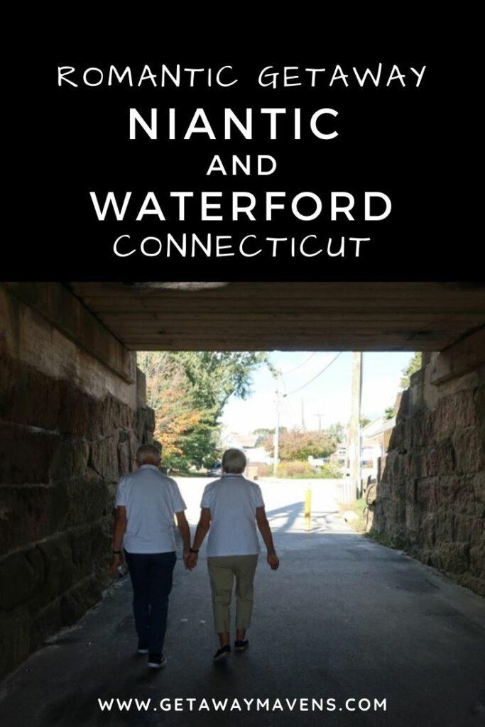 Niantic, Waterford CT Getaway Pin
