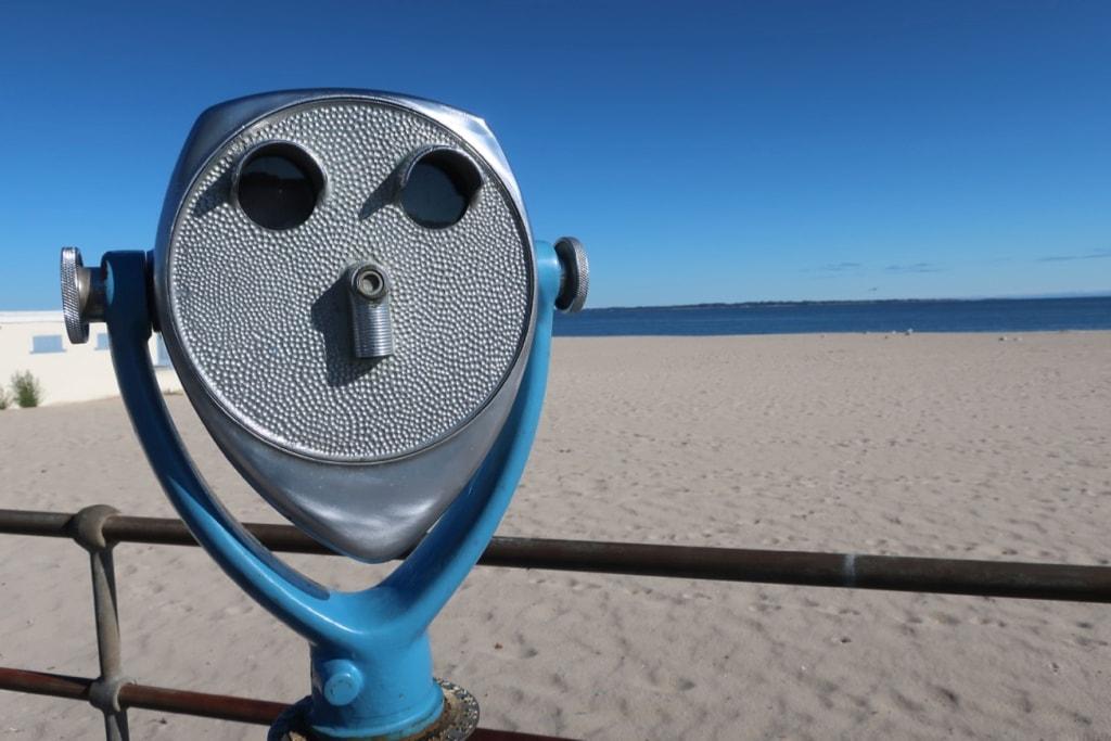 Soft sanded Ocean Beach New London CT