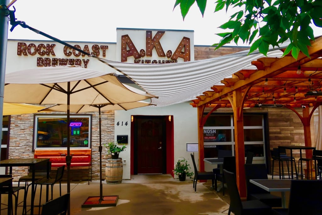 Rock Coast Brewery and AKA Kitchen Loveland CO
