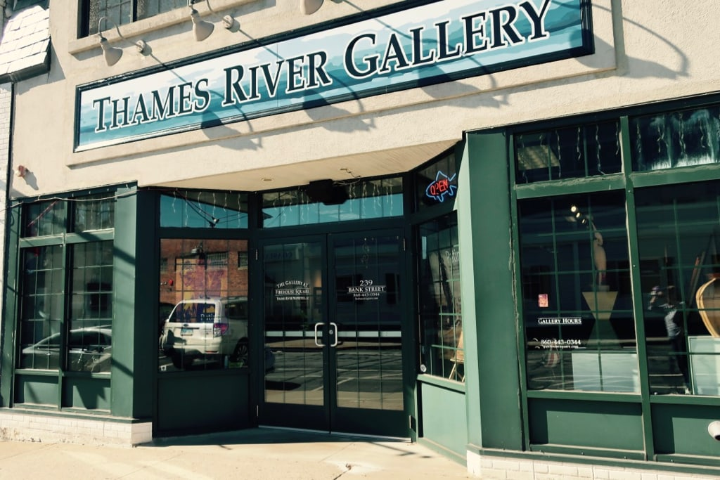 Thames River Art Gallery New London CT