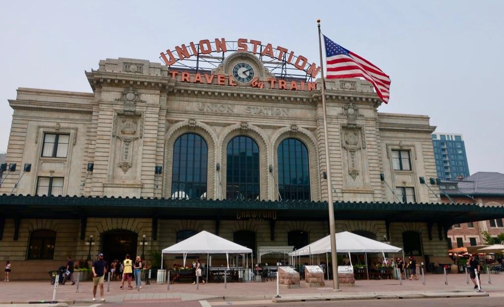 Union Station Crawford Hotel Denver CO